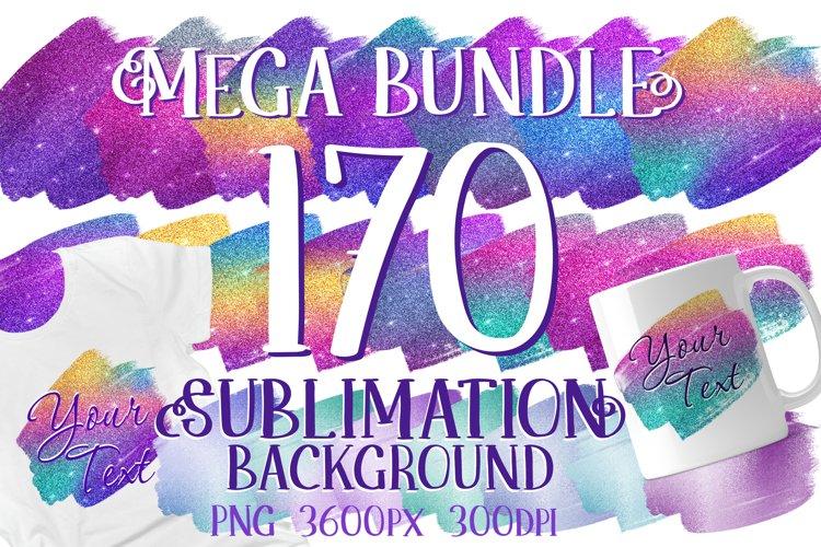 Glitter Sublimation Background 170 PNG Mega Bundle