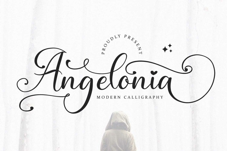 Angelonia - Modern Calligraphy Font example image 1