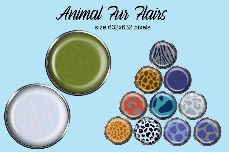 Animal Fur Flairs
