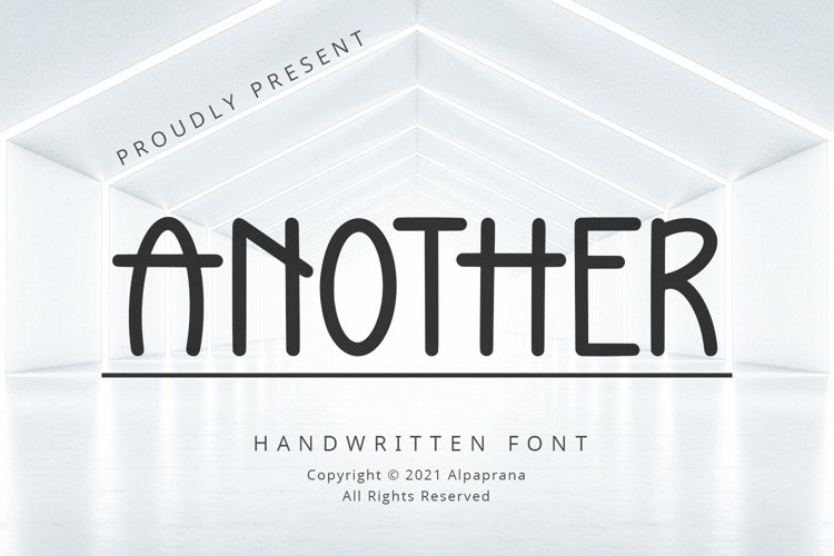 Another - Handwritten Font example image 1