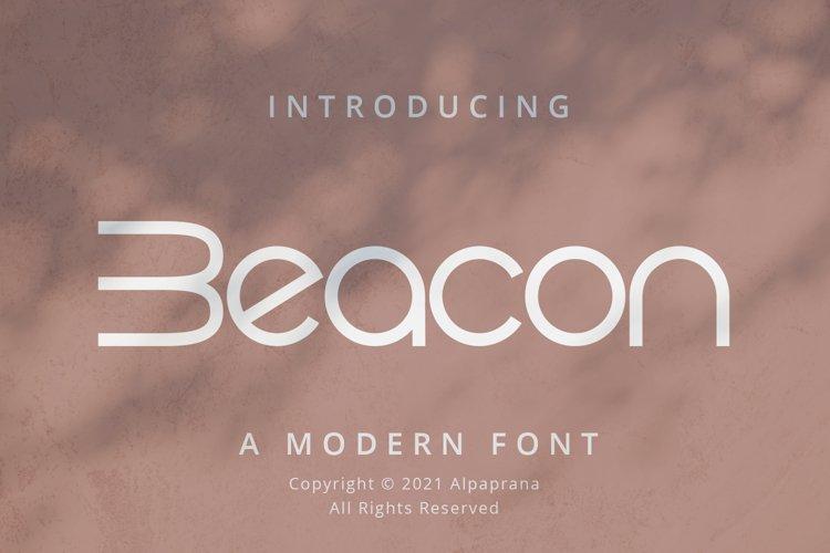 Beacon - Modern Display example image 1