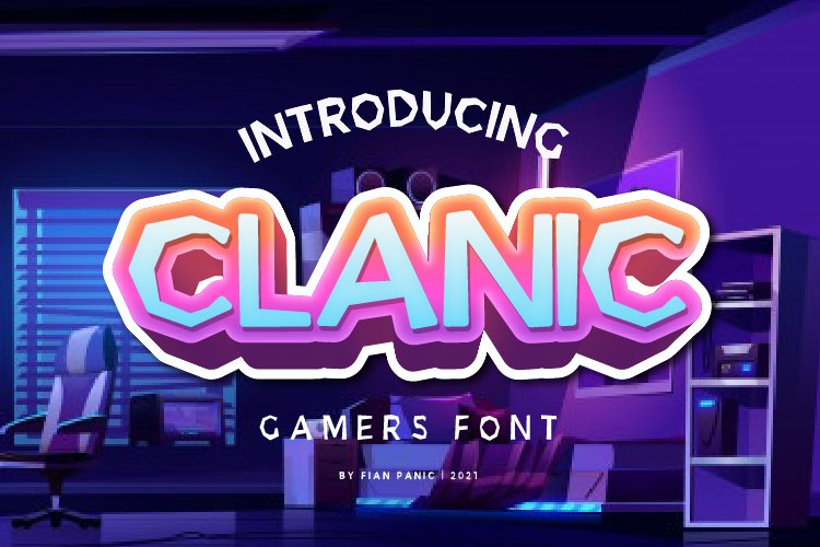 Clanic Font example image 1