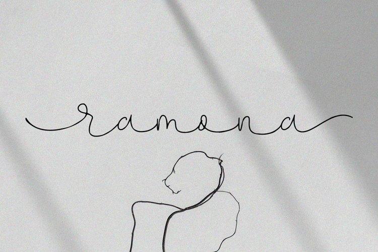 Ramona Signature example image 1