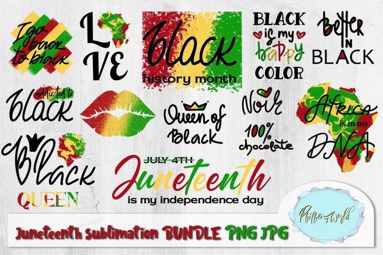 Juneteenth BUNDLE Black History Month Sublimation designs