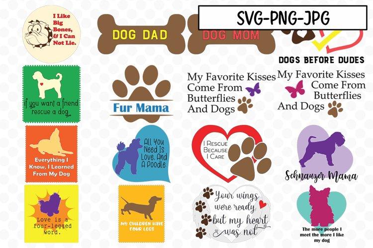 Dog SVG Bundle