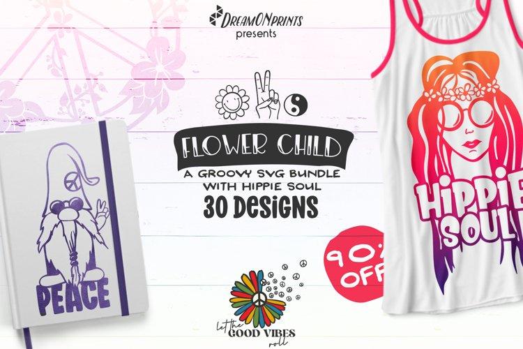 Peace Sign SVG Bundle | Hippie SVG Bundle