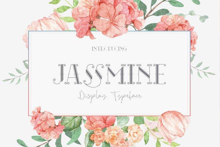 Jassmine Typeface example image 1