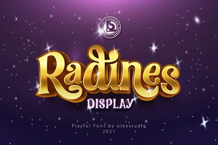 RADINES Display example image 1