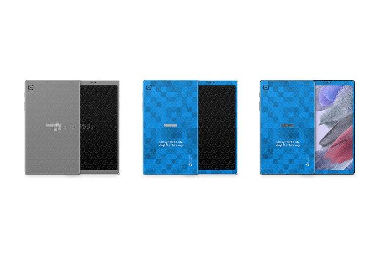 Galaxy Tab A7 Lite 2021 PSD Skin Mockup Template