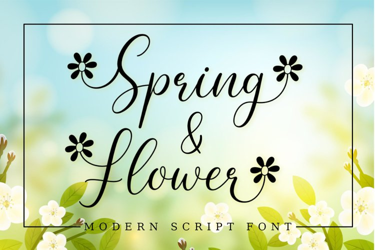 Spring Flower example image 1