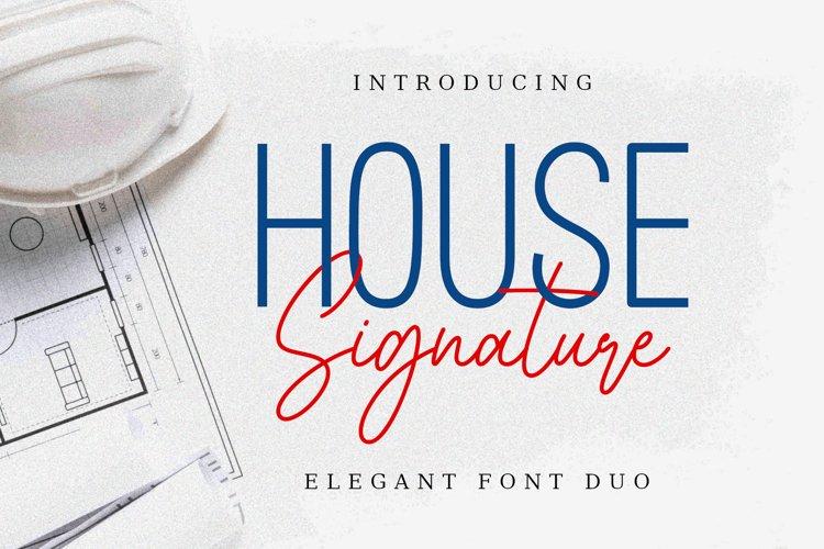 House Signature example image 1