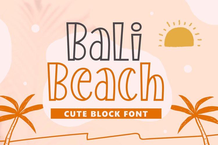 Bali Beach example image 1