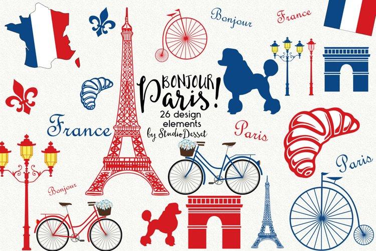 Paris Illustrations | France Cliparts
