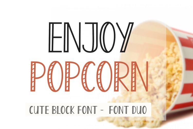 Enjoy Popcorn example image 1