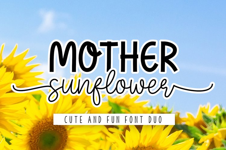 Mother Sunflower example image 1