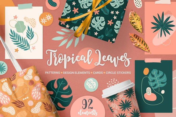 Tropical Leaves Kit