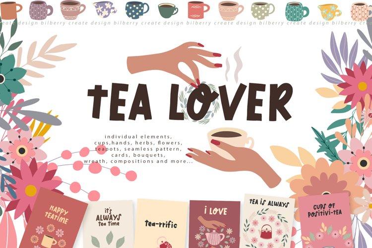 Tea Lover art set