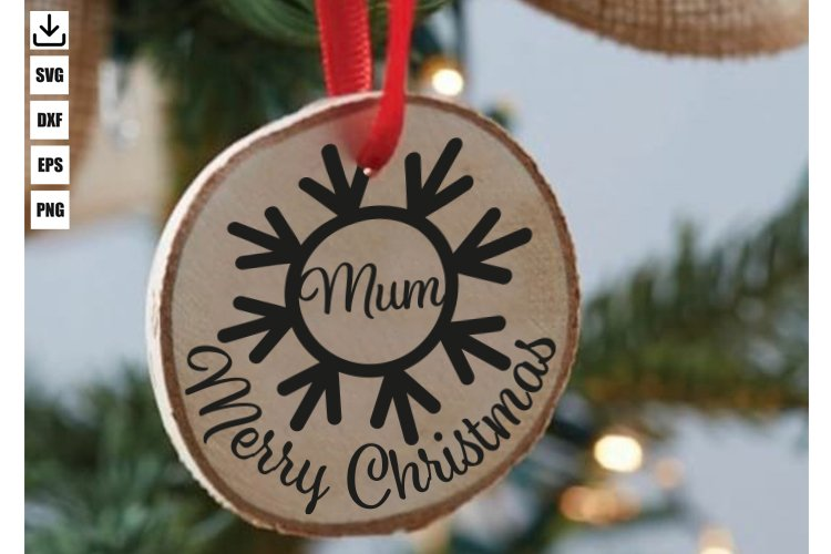 FAMILY CHRISTMAS ORNAMENT
