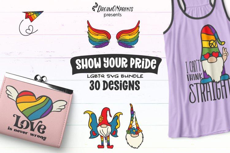 Pride SVG Bundle | Rainbow SVG Bundle LGBT
