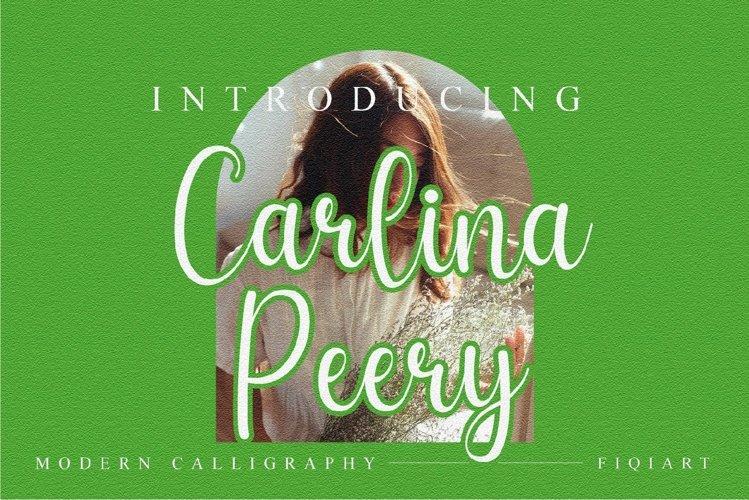 Carlina Peery example image 1