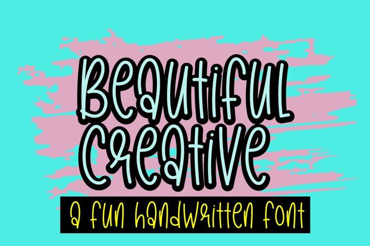 Beautiful Creative example image 1