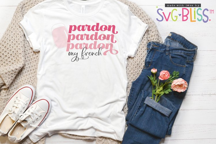 Pardon My French SVG Cut File/Sublimation, French Manicure