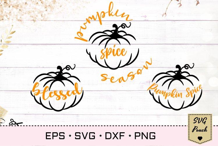 Pumpkin Spice SVG example image 1