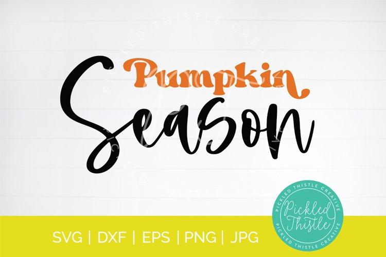 Pumpkin Season SVG - Halloween SVG