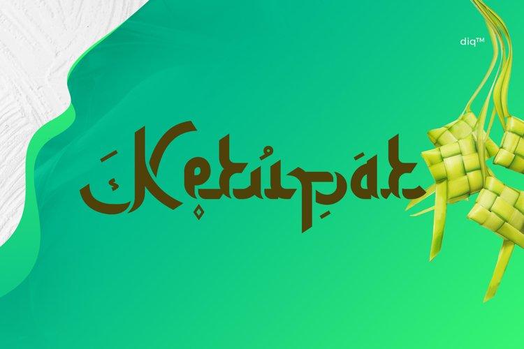 Ketupat Font Family example image 1