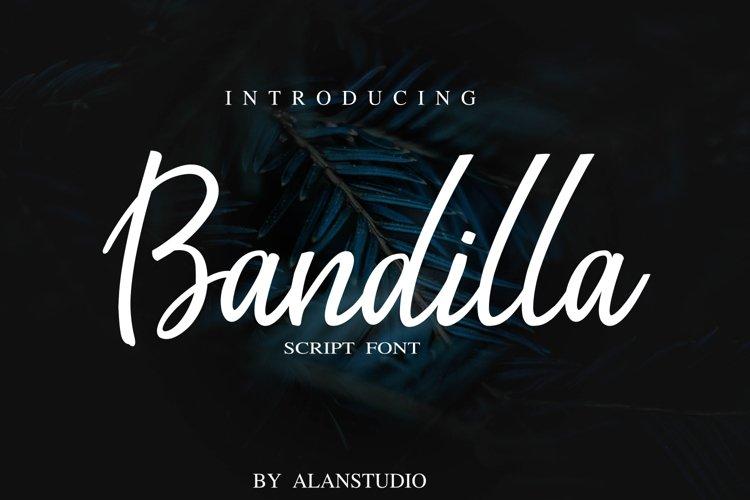 Bandilla script example image 1