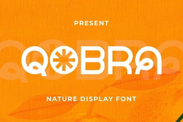 Web Font Qobra Font example image 1