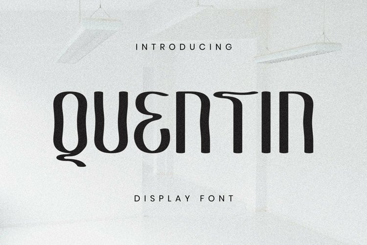 Web Font Quentin Font example image 1