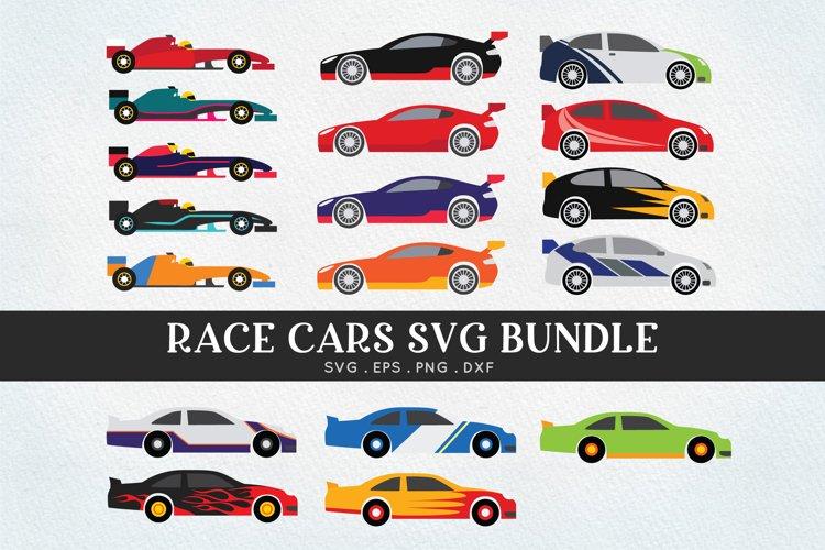 Race car svg bundle - racing car -sprint car svg png eps dxf