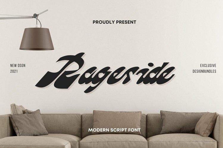 Web Font Rageside Font example image 1