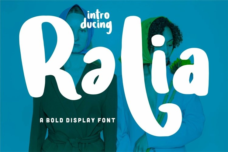 Web Font Ralia - A Bold Display Font example image 1