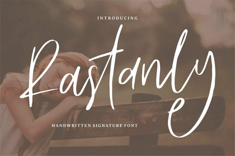 Web Font Rastanly - Handwritten Signature Font example image 1