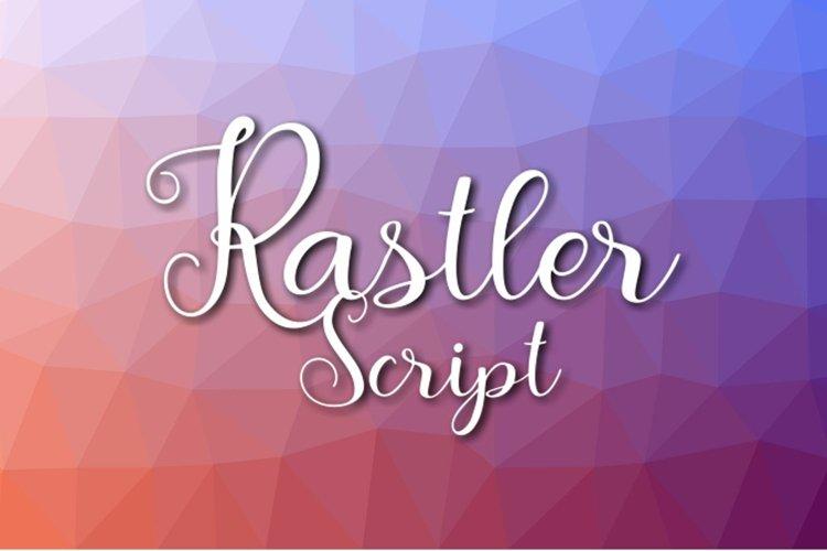 Rastler Font