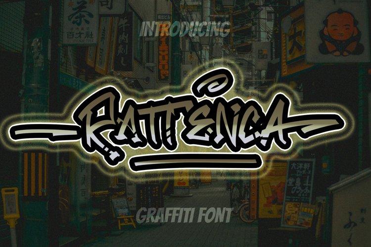 Rattenca - Graffiti Font example image 1