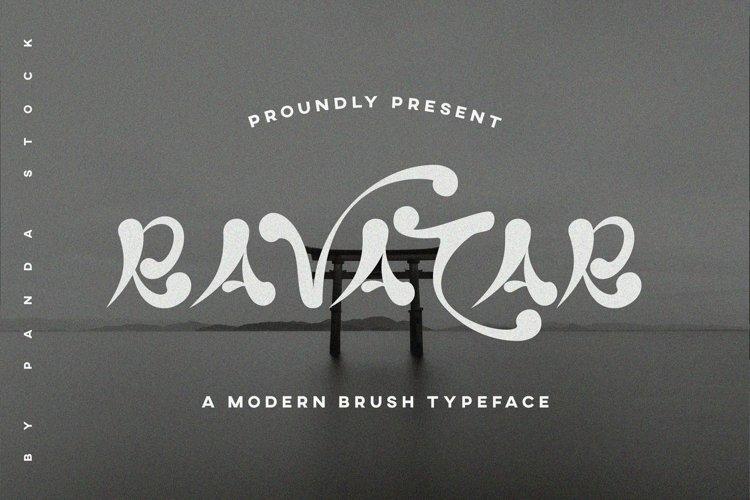 Web Font Ravatar example image 1