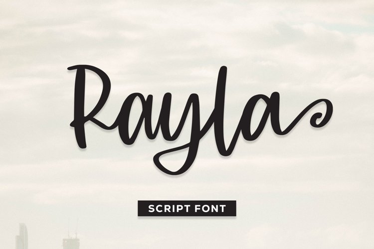 Rayla - Script Font example image 1