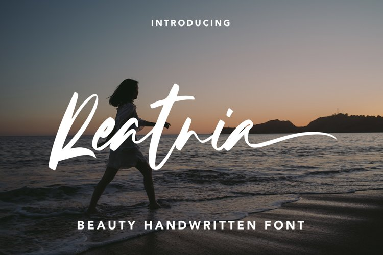 Reatnia - Beauty Handwritten Font example image 1