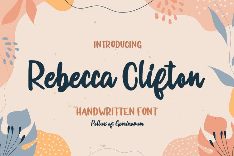 Rebecca Clifton example image 1
