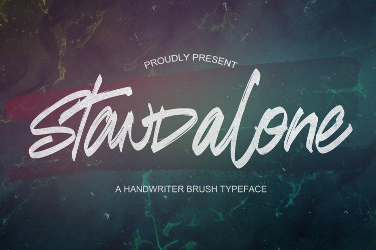 Standalone - Handwritten Font example image 1