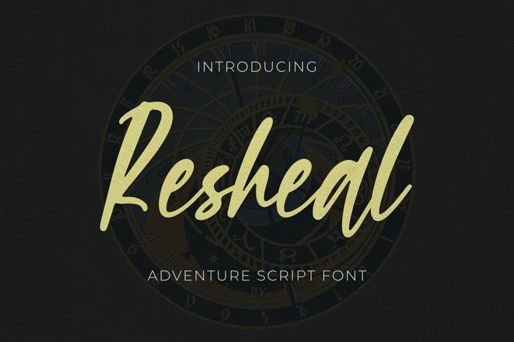 Web Font Resheal