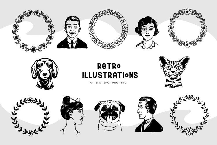 Retro Illustrations
