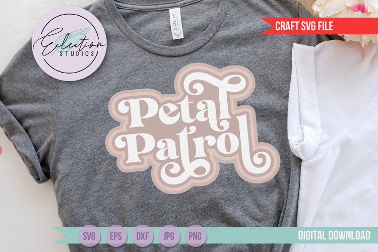 Petal Patrol SVG Flower Girl Wedding Design