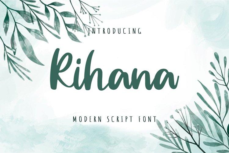 Rihana example image 1