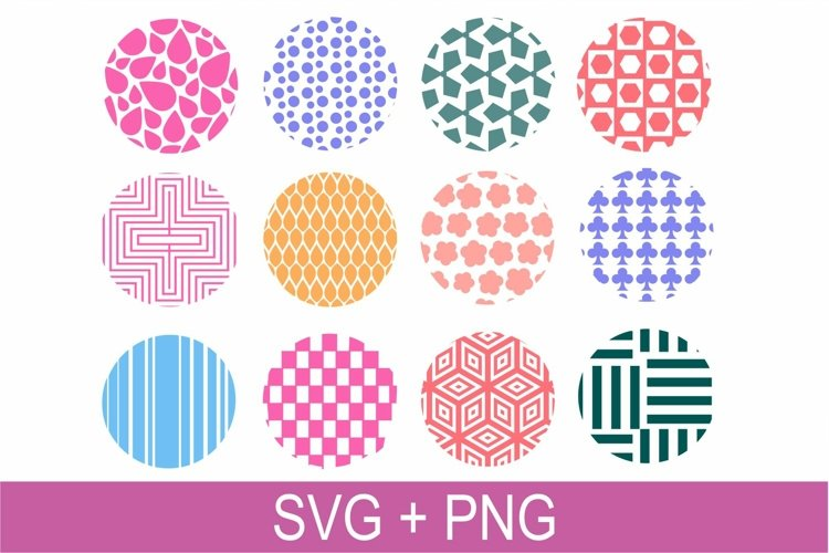 Ring Keychain Pattern SVG PNG