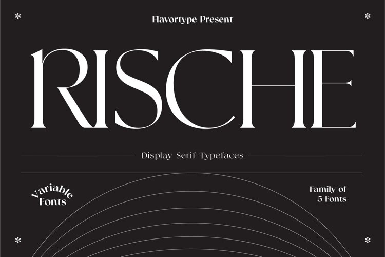 Rische - Display Serif Variable example image 1