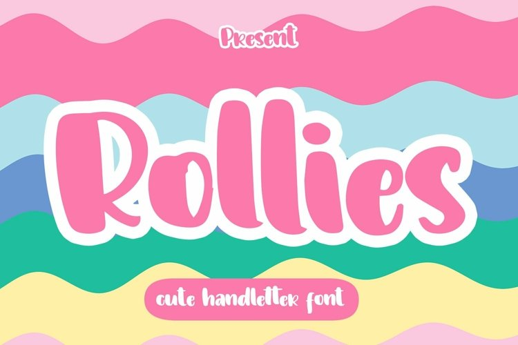 Web Font Rollies - Cute Handletter Font example image 1